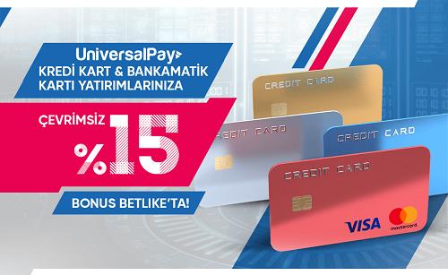 betlike kredi kartı